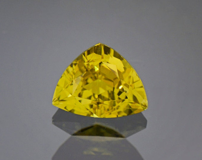UPRISING SALE! Rich Yellow Green Heliodor Beryl Gemstone from Brazil 2.70 cts