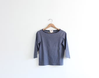 Blue Striped 90s Shirt