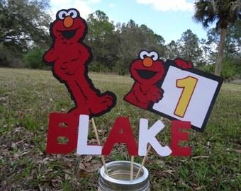 Elmo Centerpiece, Sesame Street Centerpiece
