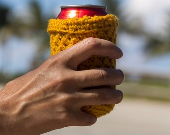 Crocheted Can Cozies for 12oz and 16oz Cans