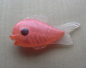 """fish baby rattle from 1940""""s, so so cute !"""