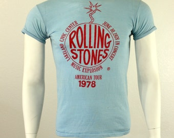 The Rolling Stones '78 Tour T-Shirt S M