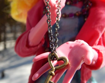 Monster High Jewelry--charm necklace