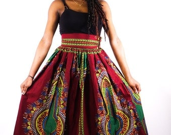 Great flying skirt in Addis Ababa African loincloth