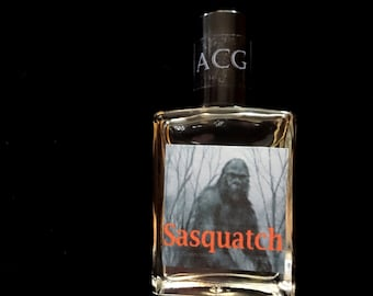 Sasquatch Cologne Oil  1/2 oz. - Woodsy Cologne, Wilderness Cologne, Weird Cologne, Strange Cologne, Forest Cologne, Musk Cologne