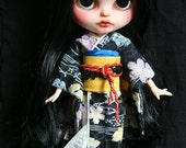 Natsuki. OOAK Custom Blythe doll.