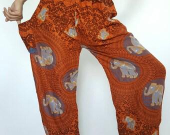 CH0027  Aladdin Pants Maxi Pants Boho Pants Gypsy Pants Rayon Pants