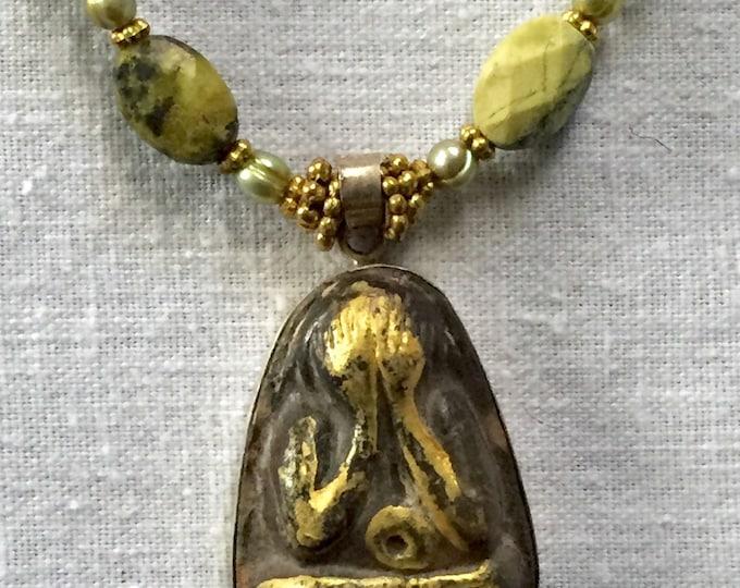 Buddha looking within, Protective amulet, Buddha art, Buddha, Thai buddha, See no evil, Phra pitta, Yoga art, Spiritual, Chakras