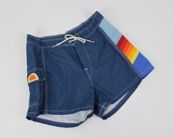 Vintage High Waisted Sundek Board Shorts Size 0 - 2