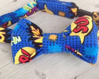 Super Heros Adjustable Bow Tie for Toddlers and Boys