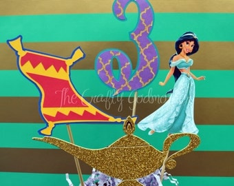 Princess Jasmine Birthday Party Centerpiece