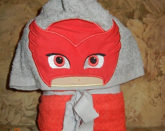 Owlette Hooded Towel