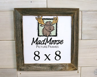 8x8 barnwood thin x 125 picture frame
