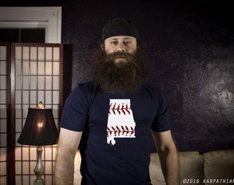 Alabama baseball mens tee