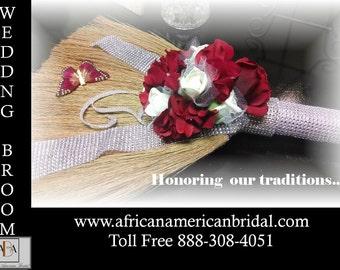 The Signature Wedding Broom, Bridal Broom, Jumping Broom