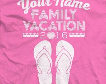 Custom Family Beach Vacation Shirts