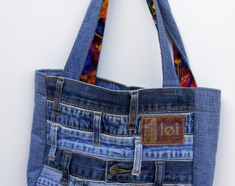 Waistband Denim Purse