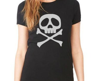 SKULL women tshirttank top  t shirt size S M L XL