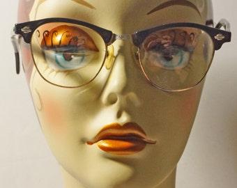 1950s Cat Eye Glasses Frames Vintage Retro