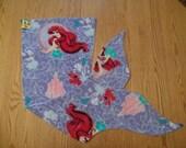 MB01: Mermaid Blanket (Purple Ariel)