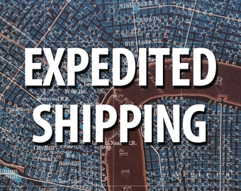Expedited Shipping - USPS 1-3 Days Priority Mail