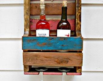 rustique bois casier vin cave vin vin par robsrusticcreations. Black Bedroom Furniture Sets. Home Design Ideas