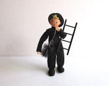 Vintage German BAPS Doll Blonde Chimney Sweep