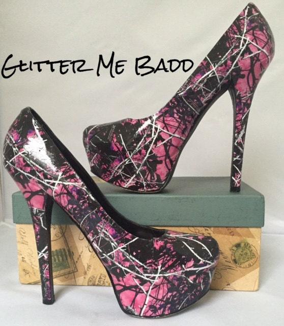 Muddy Girl Camo Heels