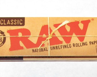Bulk RAW Natural Rolling Papers - Choose Quantity