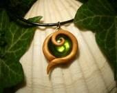 Kokiri Emerald - Legend of Zelda: Ocarina of Time - handmade Pendant