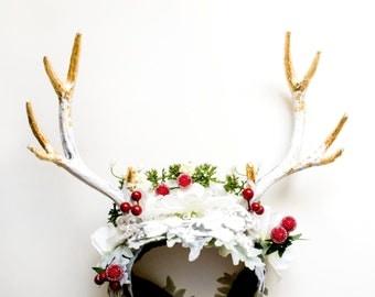 Deer head piece Winter Edition