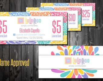 Lularoe business cards unicorn by mommyplaytime on etsy for Etsy lularoe business cards