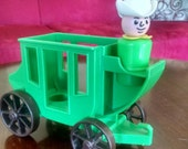 Fisher Price Western Stagecoach and Driver