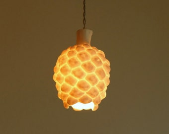 Porcelain Lamp, Home Decor Light, Light Pendant, Hanging Light, Lamp Shade, Pendant Lighting, Light Fixtures, Ceiling Lighting, Hanging Lamp