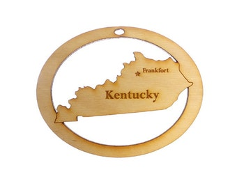 Kentucky Ornament - Kentucky State Ornament - Kentucky Gift - Kentucky Ornaments - Kentucky Decor - Kentucky Souvenirs - Personalized Free