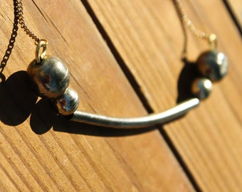 Reloved brass necklace