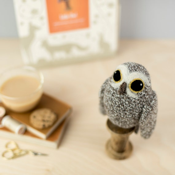 Little Owl Crochet Kit Amigurumi Crochet Little Owl Kit