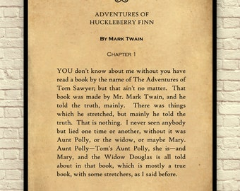 quotes in the book huckleberry finn by Mark twain books are full of interesting quotes, and the adventures of huckleberry finn is no exception review these well-known quotes to help you understand the characters, the plot, and the significance of the book when it was written and today.