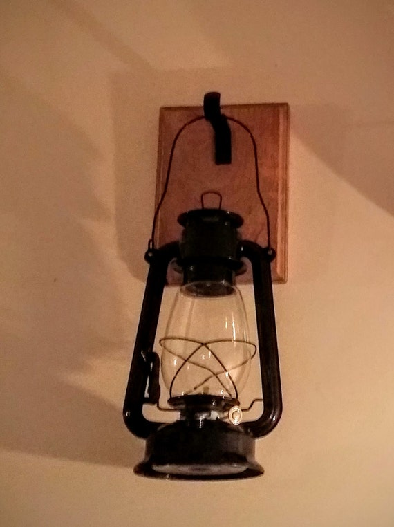Wall Lantern Decor : Rustic Lantern Wall Decor Lantern Wall Sconce by RecycledRevival