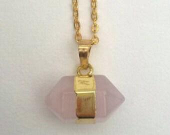 Advanced quartz necklace