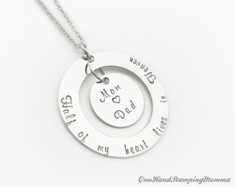Hand Stamped Necklace - Personalized Nana Necklace - Nana Necklace - Hand Stamped Jewelry
