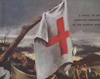 Vintage 1957 Medical wartime novel, Sword and Scalpel by Frank G Slaughter.
