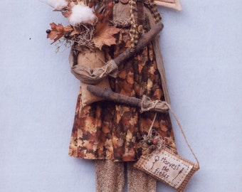 "Primitive PATTERN ""Harvest the Fields"" Angel"