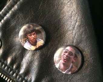 Freaks and Geeks/ Sam and Bill pinback button set