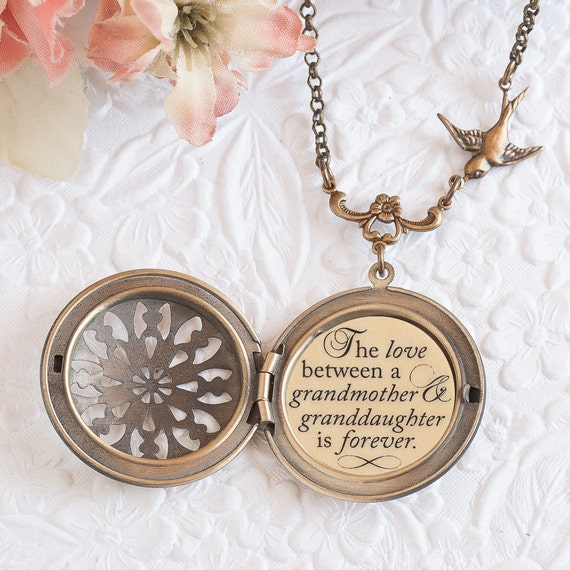 Grandma gift grandmother necklace the love between a for Grandmother jewelry you can add to