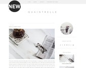 SALE Premade Blogger Template Design / Minimalist Blogger Template / Minimal Blogger Template / Mobile Friendly / Blogger /  + VAT