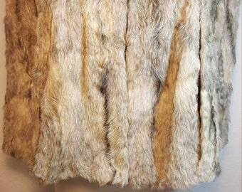 FREE  SHIPPING   1940  Mink fur cape