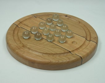 Deluxe Hardwood Marble Jump Game