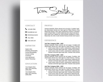 Masculine resume etsy buy 1 get 1 free professional resume template cv template cover letter for word professional pronofoot35fo Images