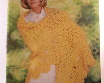 All Shawls by Bernat - 21 shawl designs - vintage 1976